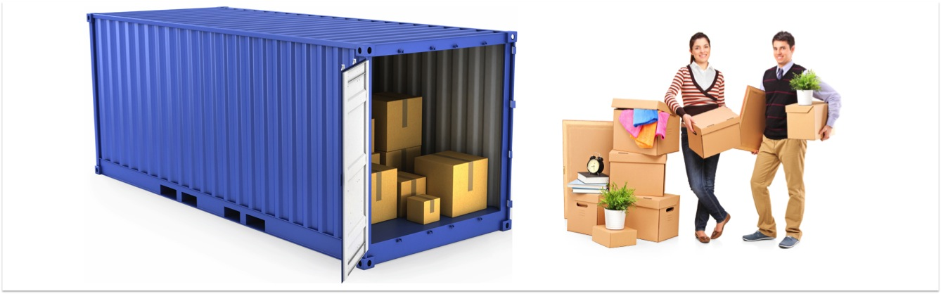 Self Pack Shipping Container For A Budget International Move